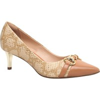 Leather Scarpin Medium Heel - Cecconello
