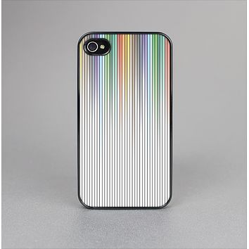 The Faded Pastel Color-Stripes Skin-Sert for the Apple iPhone 4-4s Skin-Sert Case