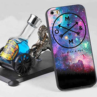Of Mice And Men Galaxy 3D customized for iphone 4/4s/5/5s/5c, samsung galaxy s3/s4/s5 and ipod 4/5 case