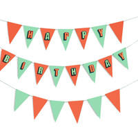 Party Flags   Birthday Wall Decorations