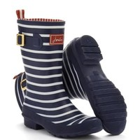Navy Stripe Molly welly Womens Molly Welly   Joules US