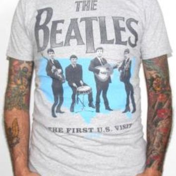 The Beatles T-Shirt - The First U.S. Visit