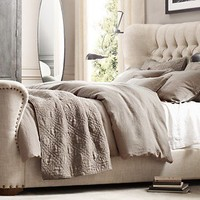 Churchill Wing Bed | Restoration Hardware