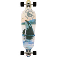 San Clemente Everything Drains Orca 39.75 Longboard Complete