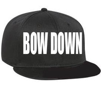 Bow Down Beyonce Snapback Customized with by TheCoutumeShop