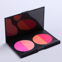 Womens Professional 4 Color Bronzers&Blusher Makeup Palette Cosmetic Set. = 1704274116