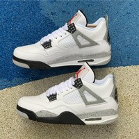 Hot Style - Air Jordan 4 White Cement