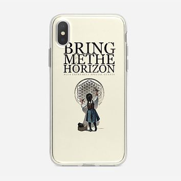 Bring Me The Horizon Owl Poster iPhone XS Max Case