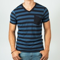 M. NAL S/S VNECK PKT T | Boathouse Stores
