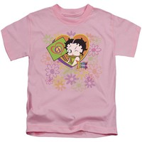 Betty Boop - Peace Love And Boop Short Sleeve Juvenile 18/1