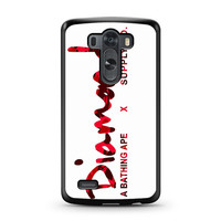 Diamond Supply Co Bathing Ape Red LG G3 case