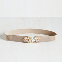 Little Bit of Glitz Belt in Ash by ModCloth