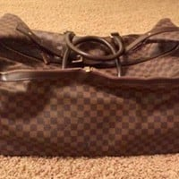 ONETOW Louis Vuitton EOLE 60 Duffle Bags - Brown