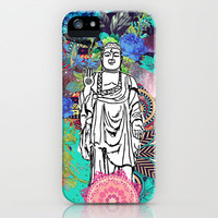 Peace comes from within iPhone Case by Sara Eshak