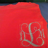 Monogram T-shirts Personalized with Your Initials!