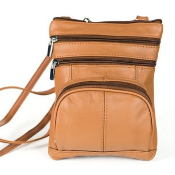 Leather Crossbody Bag Messenger Bag