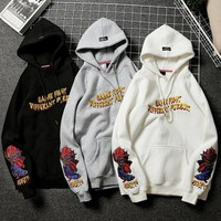 Couple Hoodies Embroidery Hats [235155947549]