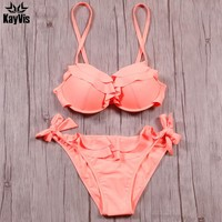New Bikini Set Sexy Bikini Push Up Swimwear Women Swimsuit Female Bathing Suit Underwire Beach Swim Wear