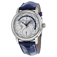 Frederique Constant Worldtimer Mens Automatic Watch FC-718WM4H6