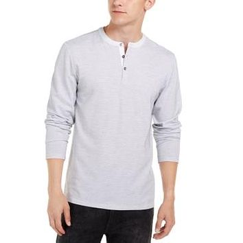 Guess Mens Dotted Henley, Choose Sz/Color