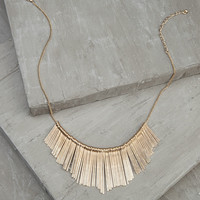 Ray of Sunshine Gold Necklace
