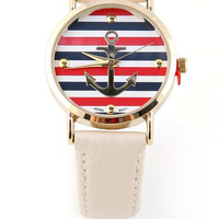 Epoch Anchor Watch - Nautical Watches at Pinkice.com