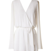 Lessons Learned Romper - Ivory