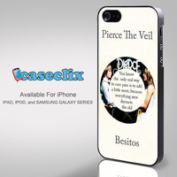 Pierce The Veil Song Lyrics Band for Smartphone Case