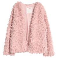 Faux Fur Jacket - Vintage pink - | H&M US