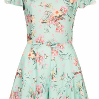 **FRILL SHORTS PLAYSUIT BY LOVE