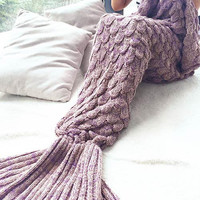 Comfortable Winter Warm Mermaid Party to Be Adored Blanket Watch Gift