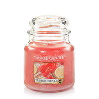 Strawberry Lemon Ice : Medium Jar Candles : Yankee Candle