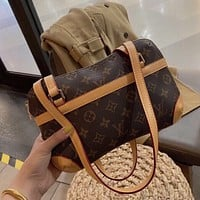 Louis Vuitton LV Monogram top handle bag