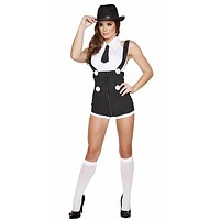 Sexy Lucky Luciano Halloween Costume