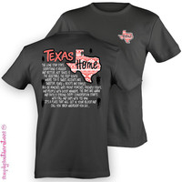 Simply Southern Funny Texas Aztec Home Sweet Girlie Bright T Shirt