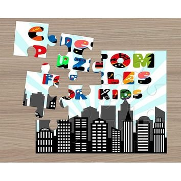 Custom Photo Puzzle | Personalized Gifts | Custom 12 Piece Puzzle