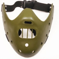 Cosplay Halloween Silence of the Lambs Hannibal Lecter Resin Mask
