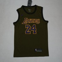 Los Angeles Lakers #24 Kobe Bryant NBA Salute To Service Jerseys