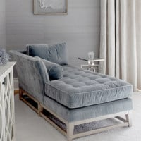Pedigree Chaise Lounger | Slate Gray