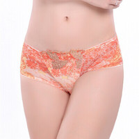 Cats Embroidery Ladies Sexy Panties [4915548164]