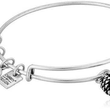 CREYV2S Alex and Ani Charity by Design, Pinecone EWB Bangle Bracelet