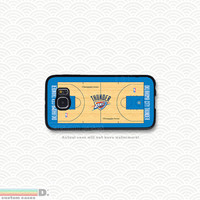 NBA Teams, Basketball Courts, Custom Phone Case for Galaxy S4, S5, S6