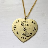 Jezie Jewelry — Love Spinner Necklace (Spins!)