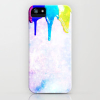 WET PAINT for IPhone iPhone Case by Simone Morana Cyla | Society6