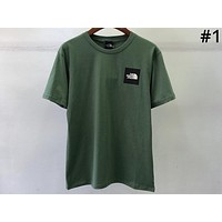 THE NORTH FACE 2019 New S/S Square Logo Half Sleeve T-Shirt #1