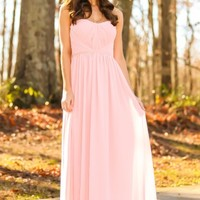 That Special Day Maxi Dress-Blush