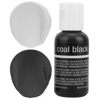 Coal Black Chefmaster Gel Food Coloring