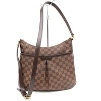 Tagre™ Authentic Louis Vuitton Shoulder Bag Bloomsbury PM N42251 Browns Damier 170863