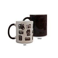 Vintage Cameras Color Changing Mug