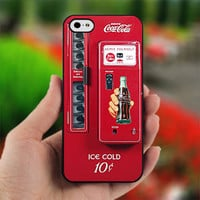 Coca Cola Vending Mahine - Photo on Hard Cover For iPhone 4/4S